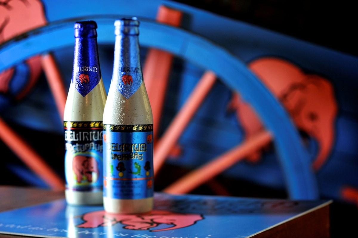 der Brauerei Huyghe (Delirium)