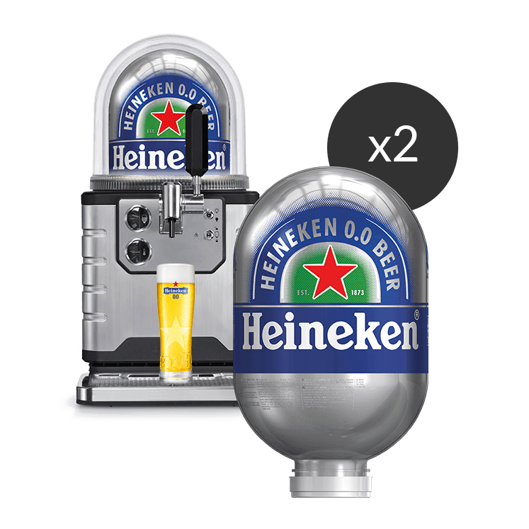 2 Heineken 0.0 - BLADE Kegs