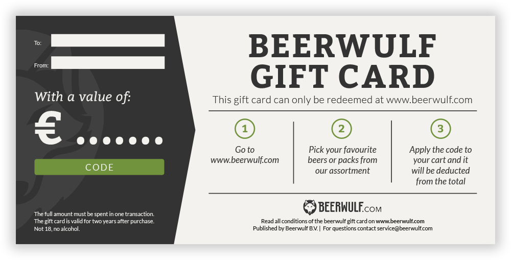 Gift Card Beerwulf
