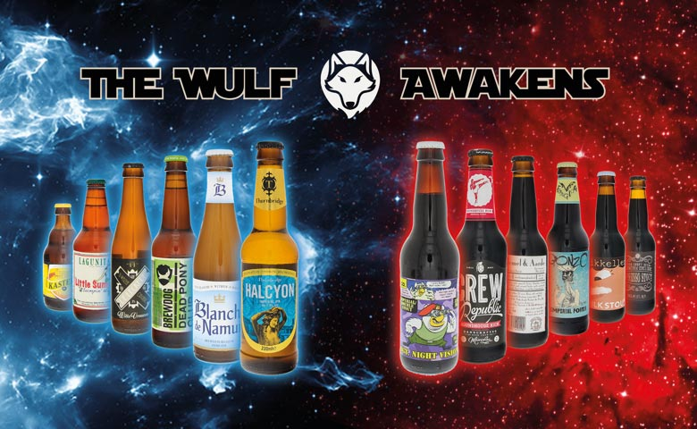 Beers For A Star Wars Movie Marathon Buy Now Beerwulf