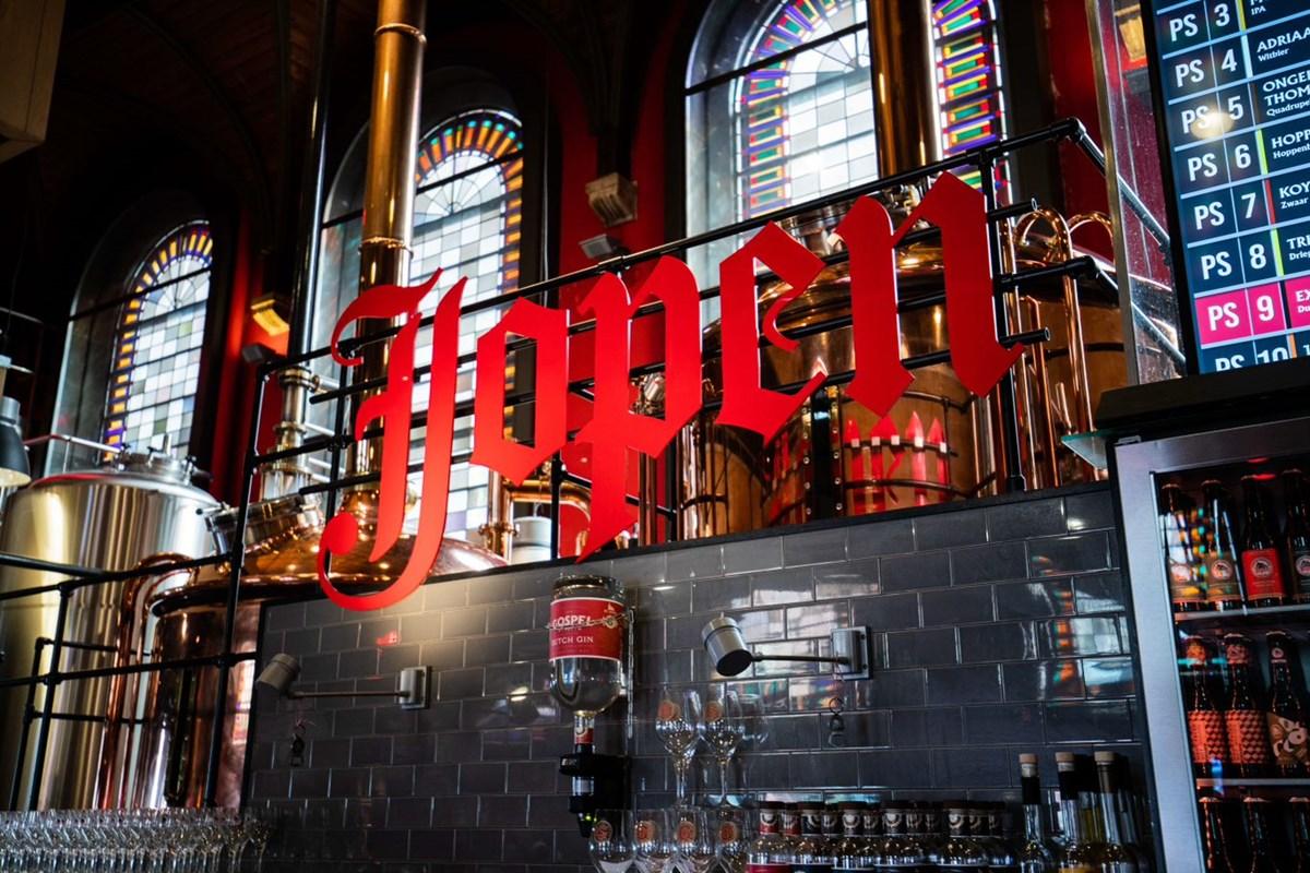 La brasserie Jopen