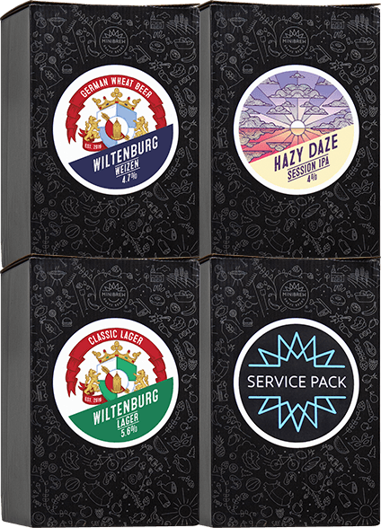 MiniBrew Brewpacks + Service Pack
