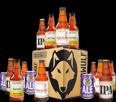Lagunitas Edition Beer Case