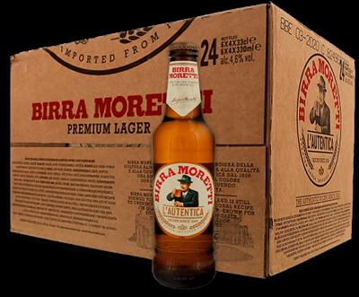 Birra Moretti L'Autentica Value Case