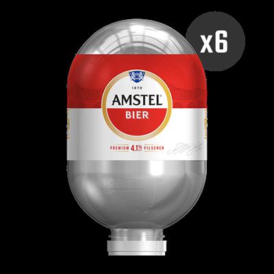 6 Amstel - BLADE Kegs