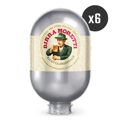 6 Birra Moretti - BLADE Kegs