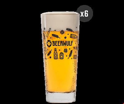 Coffret de Verres Lager Beerwulf