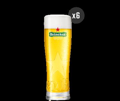 Coffret de Verres Heineken