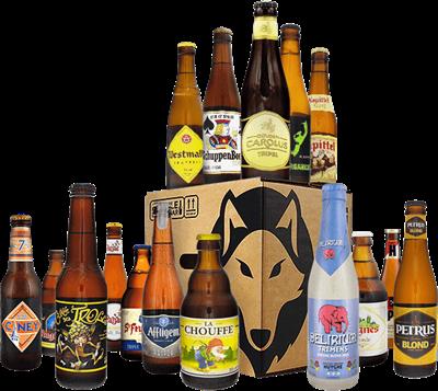 Pack de cervezas belga