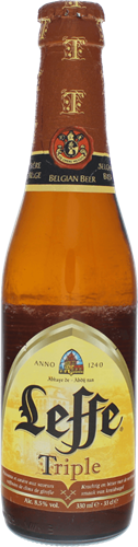 Leffe Tripel by Brouwerij Artois: buy craft beer online | Beerwulf