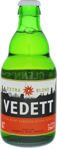 Vedett Extra Blond by Brouwerij Duvel Moortgat: buy craft beer online