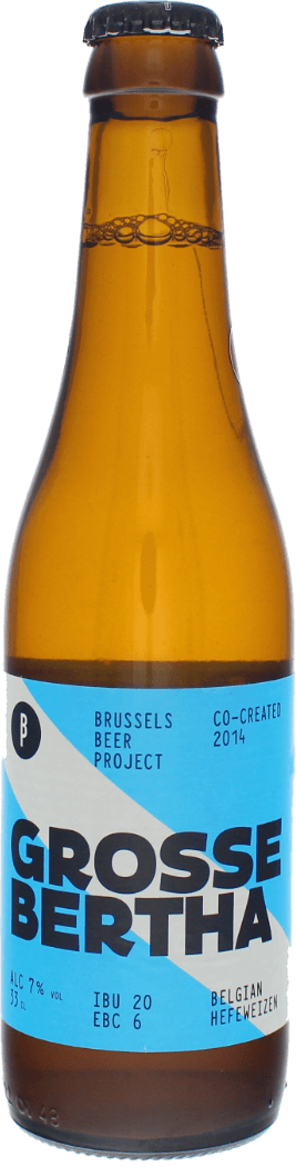 Brussel Beer Project Grosse Bertha