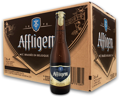 Box Promo Affligem Blonde
