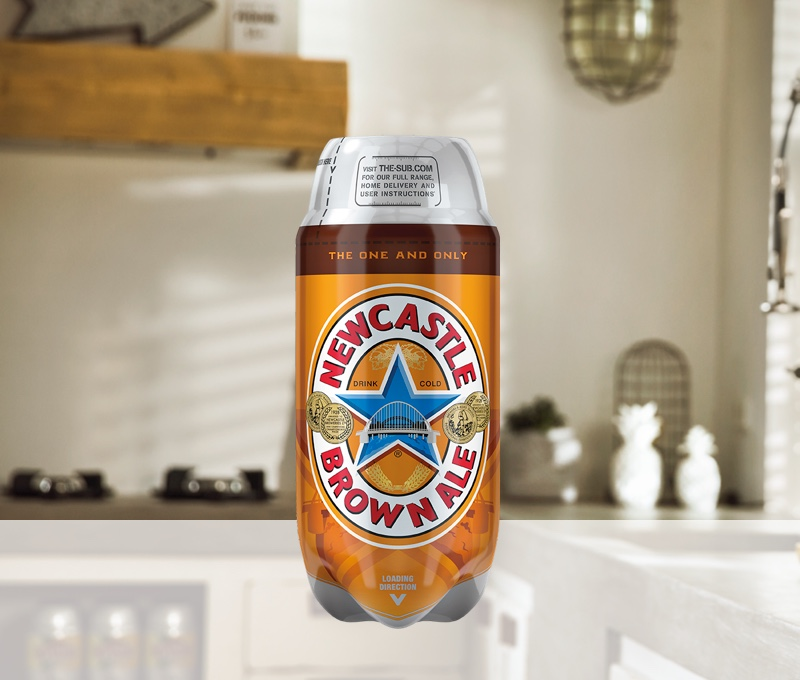 Newcastle Brown Ale TORP - 2L Keg