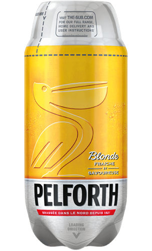 Pelforth Blonde TORP - Barril de 2L