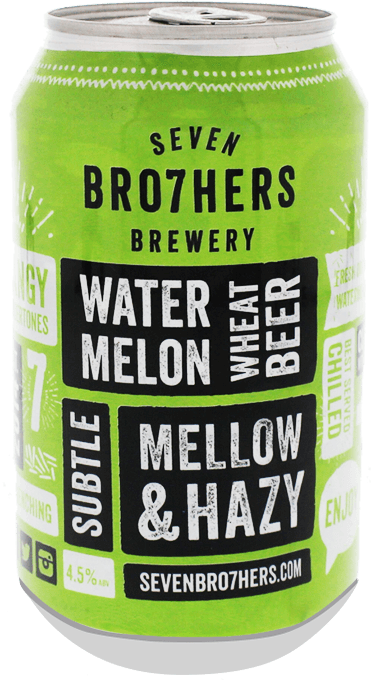 Seven Bro7hers- Watermelon wheat beer