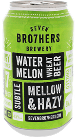 Seven Bro7hers Watermelon Wheat Beer