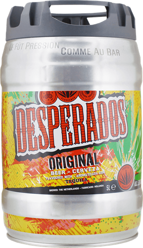 Desperados Draught Keg Buy Now Beerwulf