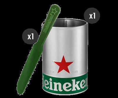 The Heineken Skimming Kit