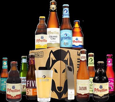 St Feuillien Beer Case