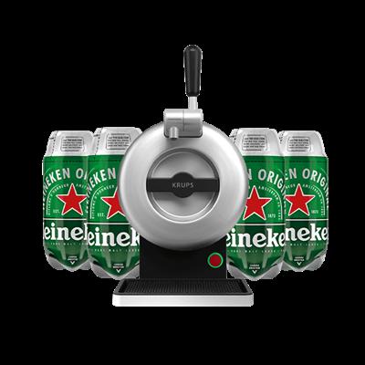 The SUB Classic Silver Heineken Starter Pack