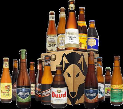 Belgian Beer Tasting Case