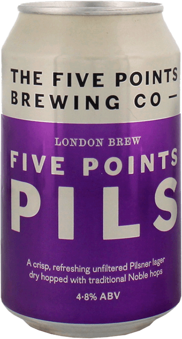 five points pils can
