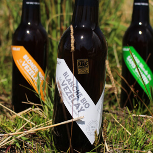 How is organic beer made?